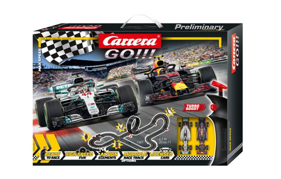 circuit-slot Carrera Coffret Max Speed