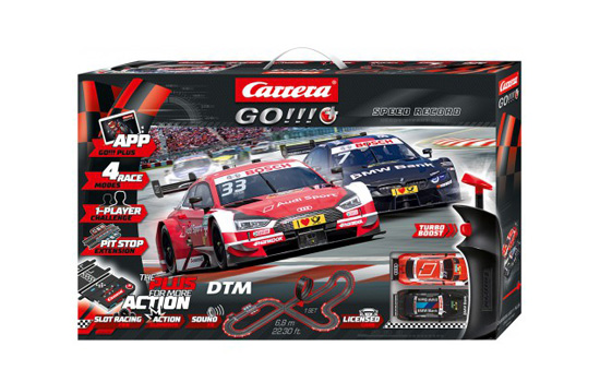 circuit-slot Carrera Coffret DTM Speed Record