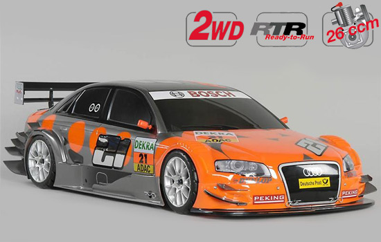 voiture FG New Chassis 530 2WD RTR + car. Audi