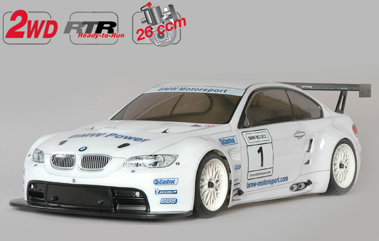 voiture FG New Chassis 530 2WD RTR + car. BMW