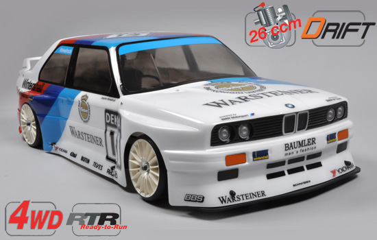 voiture FG Chassis Drift 4wd RTR + carro. E30