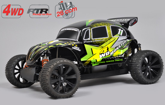 voiture FG Monster Buggy RTR