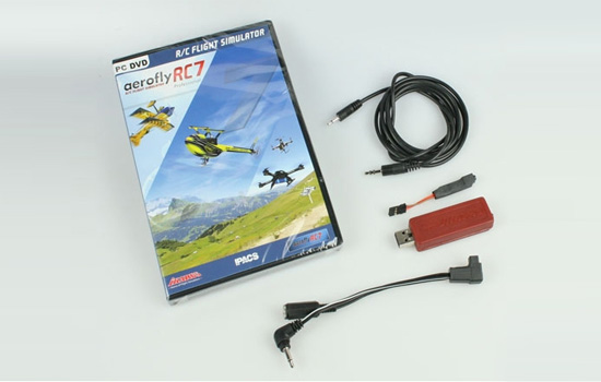simulateur Ikarus Aerofly RC7 Pro + interface