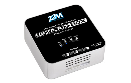 chargeur T2M Wizard Box