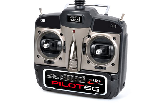 radio T2M Pilot 6G 2.4GHz FHSS mode1