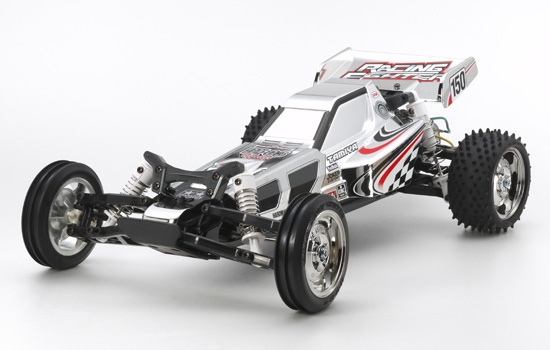 voiture Tamiya Racing Fighter Chrome Metal DT03