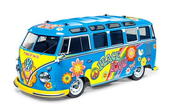 voiture Tamiya VW Typ T2 Flower Power M05