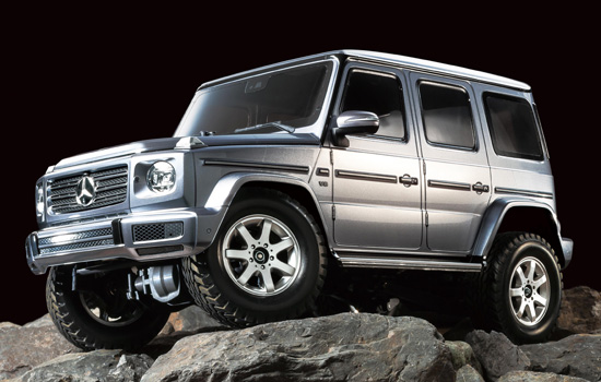 voiture Tamiya Mercedes‐Benz G500 Gun Metal
