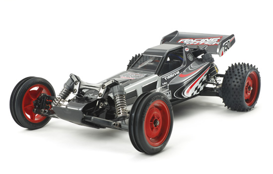 voiture Tamiya Racing Fighter Black Edition DT03
